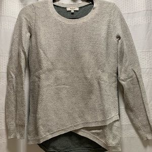 Madewell Knit Cross Front Sweater